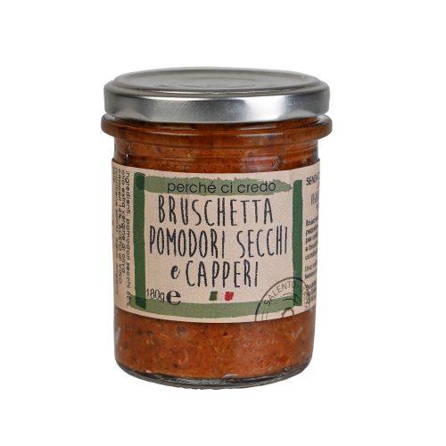Condimento Pomodori Secchi e Capperi - PercheCiCredo