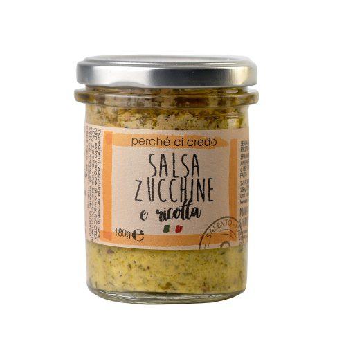 Salsa zucchine e ricotta Perchecicredo
